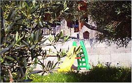Chute in the garden