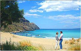 Plakias: Eastern beach